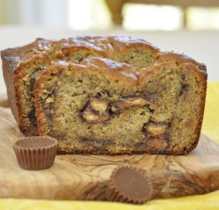 Reese's Peanut Butter Banana Bread recipe