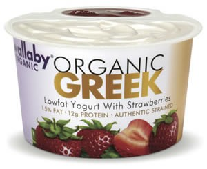 Wallaby Organic Greek Yogurt Review and Giveaway