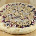 Berry Brown Sugar Dessert Pizza