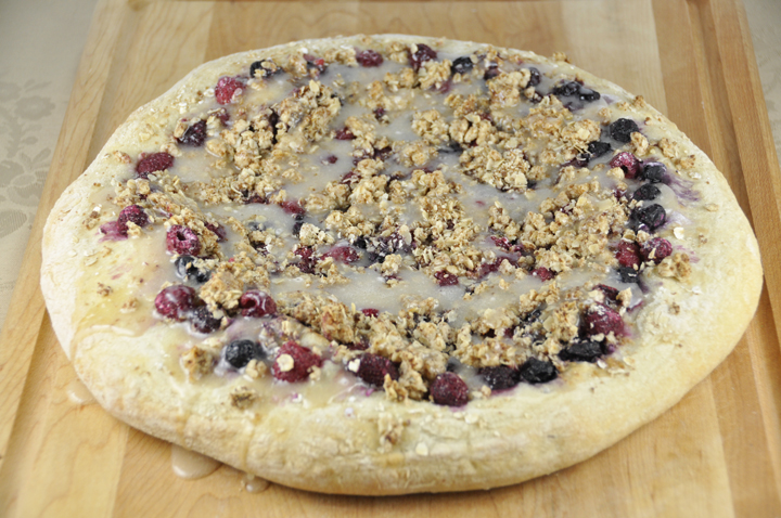 Berry Brown Sugar Pizza - Dessert Pizza Recipe