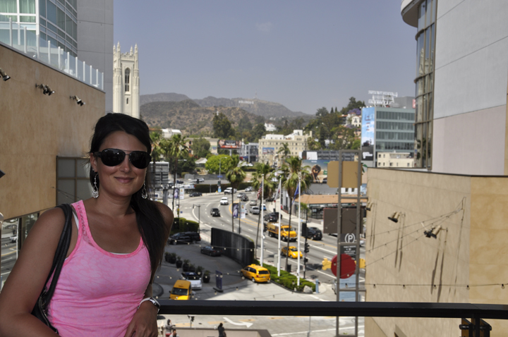 Visiting Hollywood, California for vacation in Los Angeles
