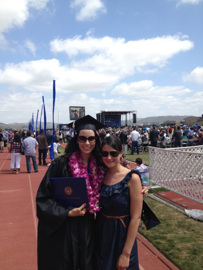 Micah's Graduation, California State University San Marcos