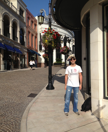 Vacation in California - Rodeo Drive, Beverly Hills