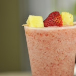 Strawberry Pineapple Smoothie (Dairy Free)
