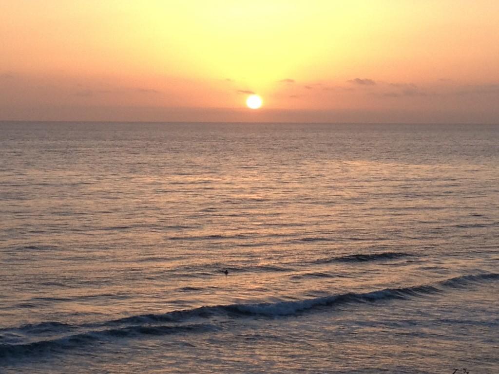 Sunset Carslbad Beach, San Diego