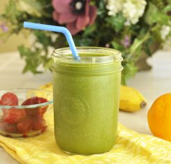 Green Smoothie + Kitchenaid Blender Review