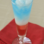 Layered Patriotic Drink