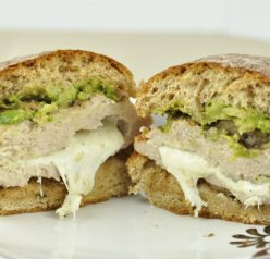 Mozzarella Stuffed Chicken Burgers Recipe
