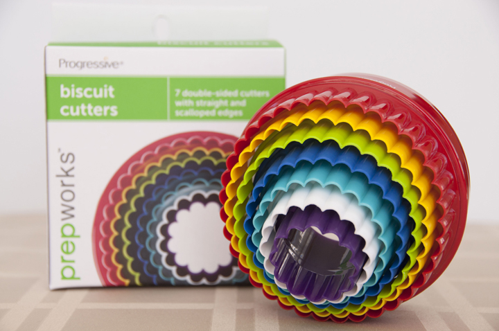 Progressive International Biscuit Cutters Prepworks Giveaway and Buttermilk Biscuit Recipe