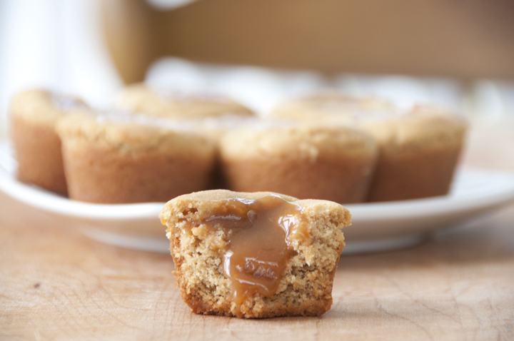 Caramel Peanut Butter Cookie Cups | Wishes and Dishes