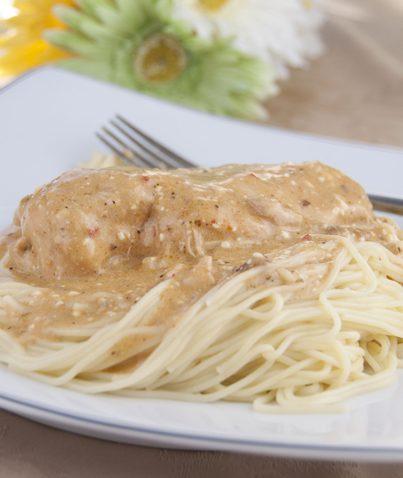Slow Cooker / Crock Pot Angel Chicken Recipe