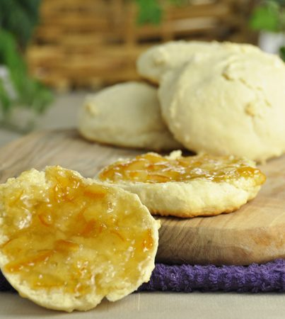 Southern Buttermilk Biscuit Recipe inspired by the Pirate's House in Savannah, Georgia