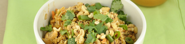 Thai Chicken Quinoa Bowl Recipe