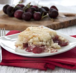 Cherry Cobbler recipe. Easy and delicious!
