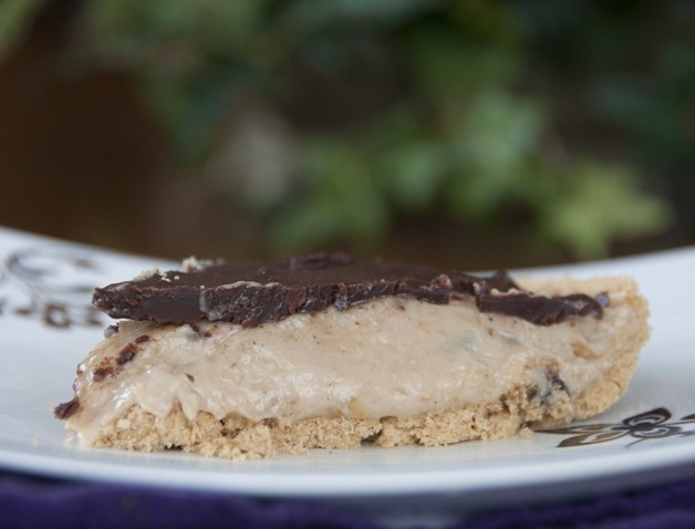 No Bake Chocolate Banana Peanut Butter Pie Recipe