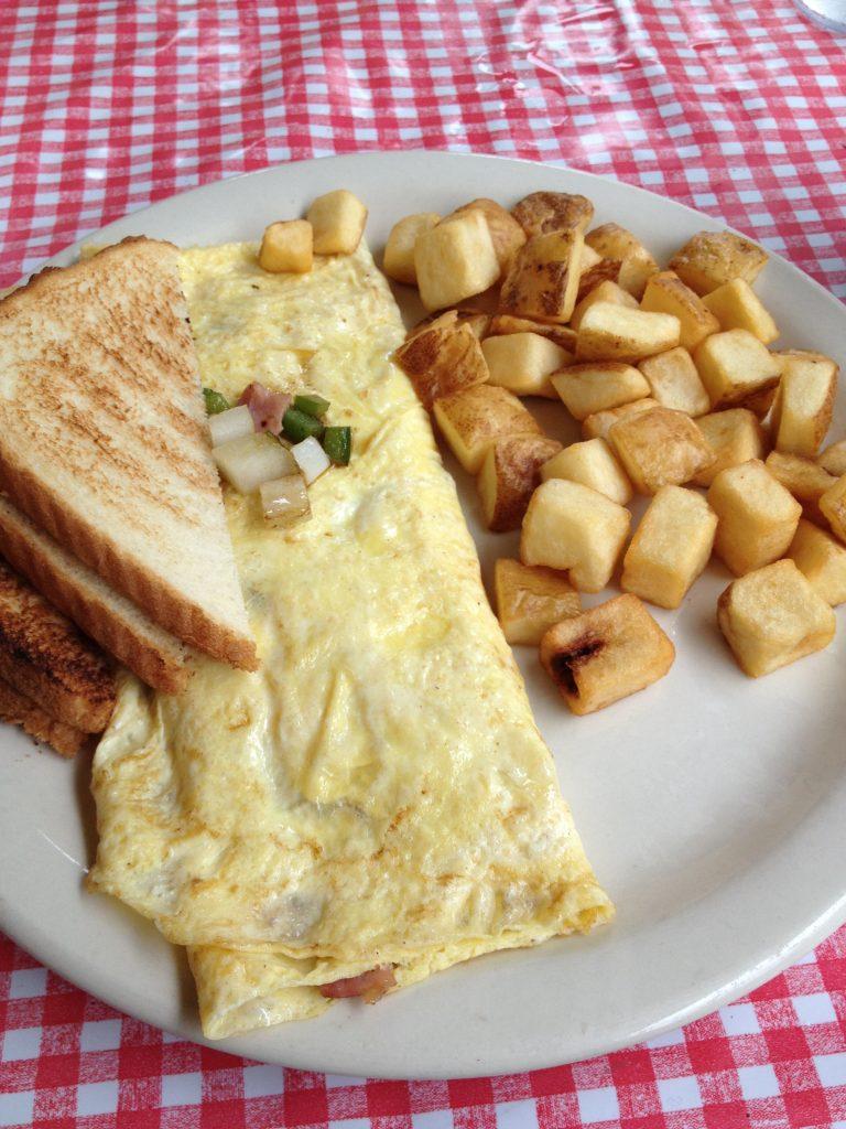 Clary's Restaurant for breakfast. Savannah, Georgia