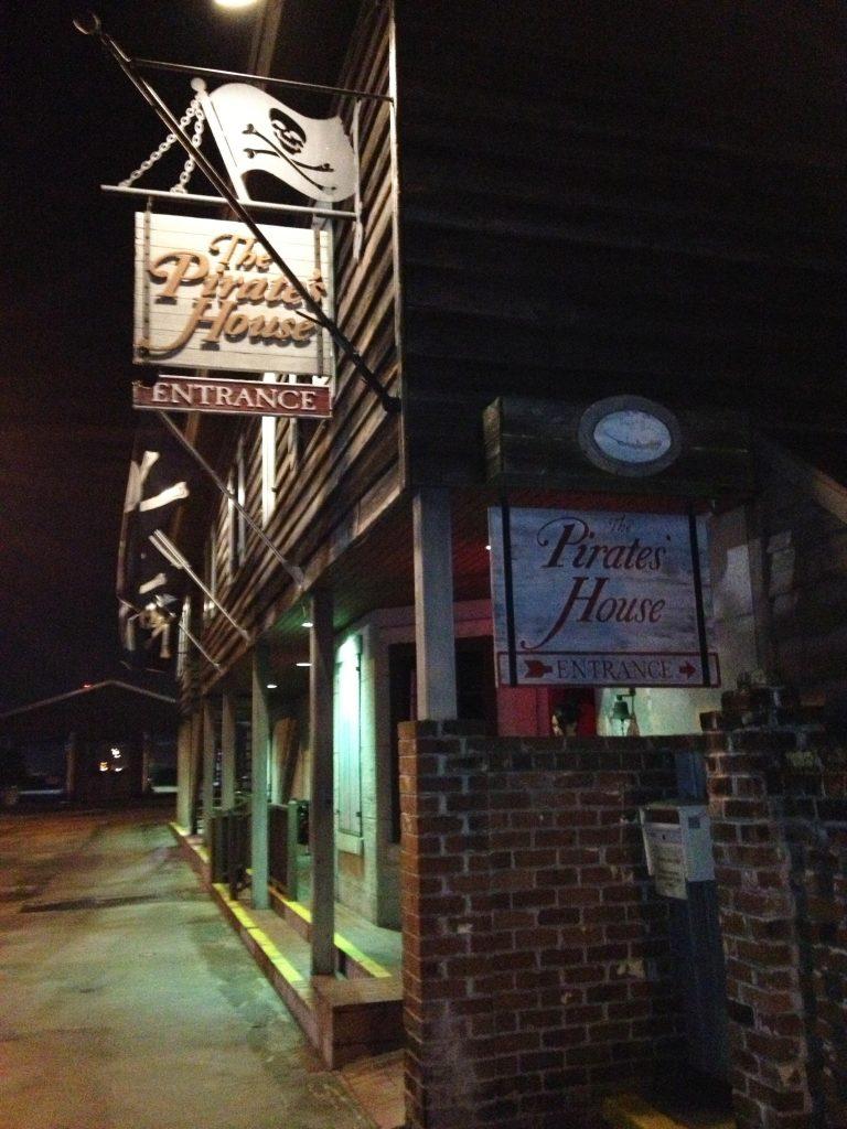 Pirate's House Restaurant, Savannah Georgia