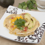 Chicken Bacon and Ranch Stacked Enchiladas Recipe for Mexican Food Week