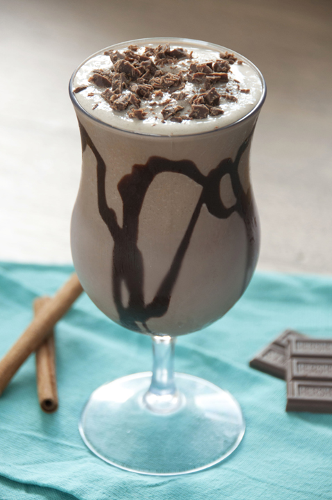 Frozen Mexican Hot Chocolate Recipe inspired by Serendipity's in New York City and Miami.