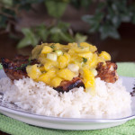 Key West Grilled Chicken Recipe with Mango Salsa Recipe. Perfect for summer grilling!