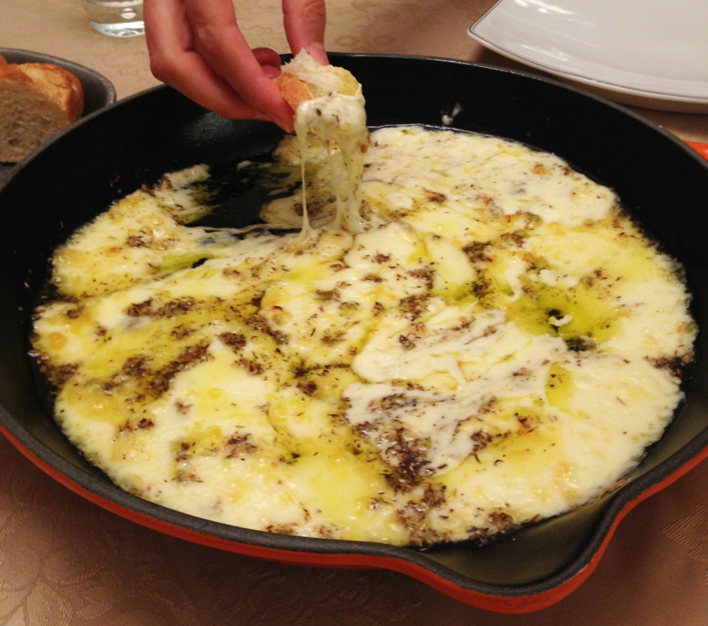 Baked Cheese Fondue (1)