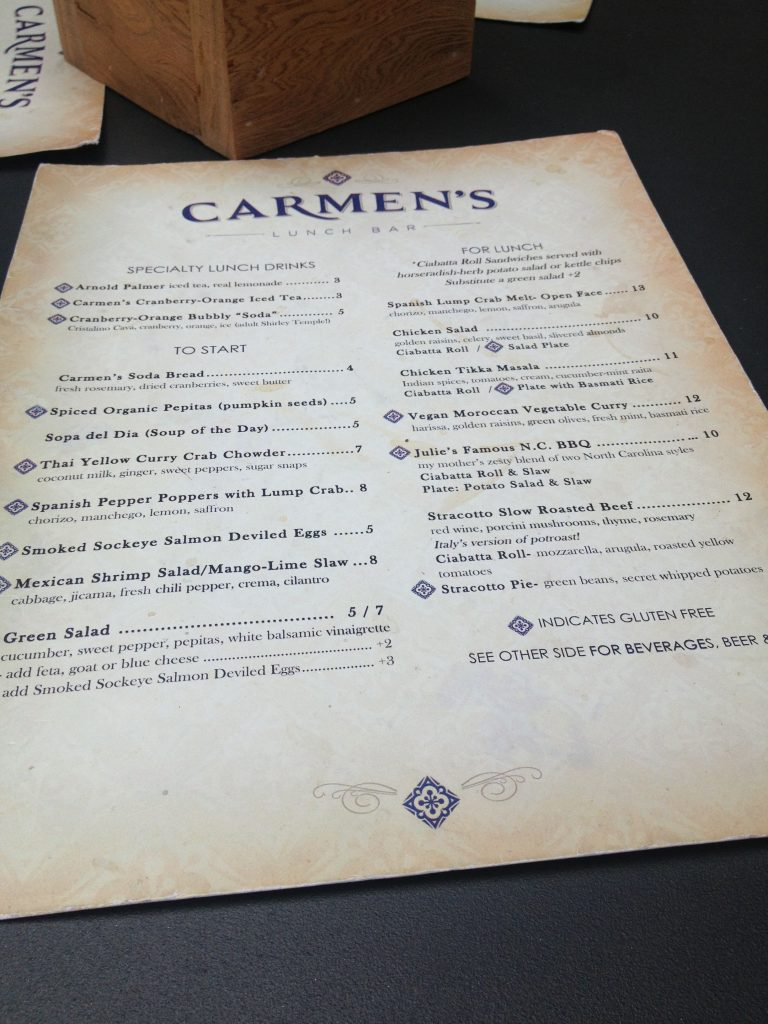 Good Eats in Pensacola,Florida - Carmen's Lunch Bar Restaurant Review