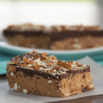 No-Bake Buckeye Pretzel Bars