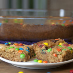 White Chocolate, Peanut Butter M & M Blondies