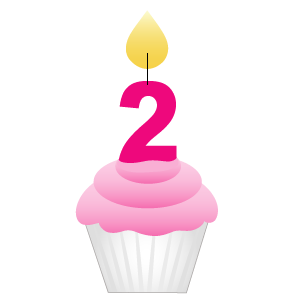 Two Year Blogoversary. Happy Birthday to my blog!