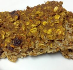 Carrot Cake Oatmeal Bake Recipe (guest post from Clean Eating Veggie Girl)