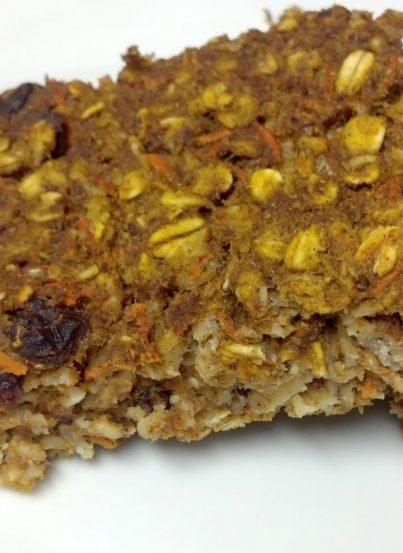 Carrot Cake Oatmeal Bake Recipe (guest post from Clean Eating Veggie Girl)