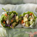 Chicken Avocado Spring Rolls + a GIVEAWAY! (winner announced)