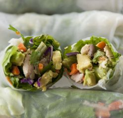 Chicken Avocado Spring Rolls Recipe with Avocados from Mexico