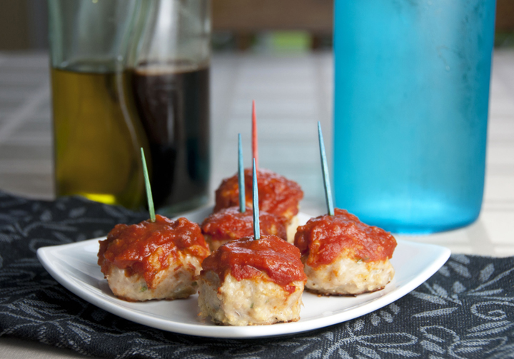 Chicken Parmesan Meatballs Wishes And Dishes
