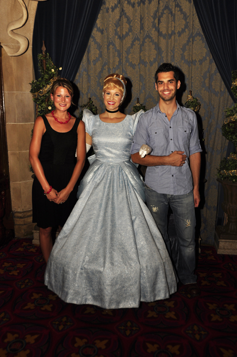 Meeting Cinderella for a photo shoot at Cinderella's Royal Table, Magic Kingdom (Review)