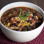 Crock Pot Chicken Taco Soup