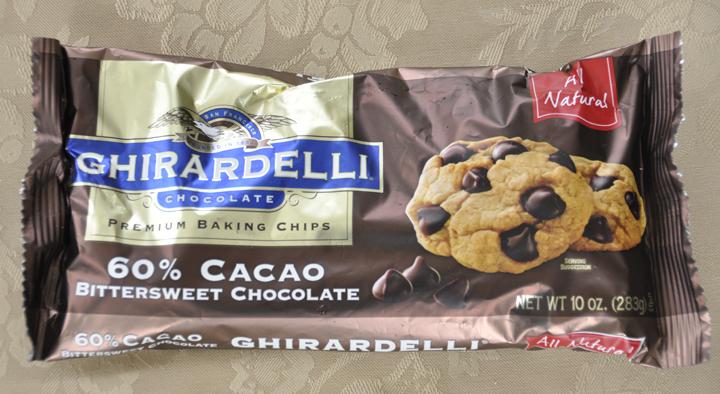 Ghirardelli Premium Baking Chips Bittersweet Chocolate