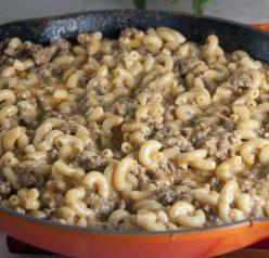 Homemade Hamburger Helper Recipe - cheeseburger macaroni