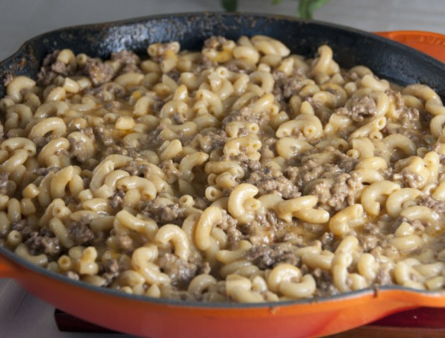 Homemade Hamburger Helper Recipe - cheeseburger macaroni