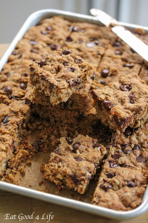 kids, of course. This is the first time I turned cookies into bars. It ...