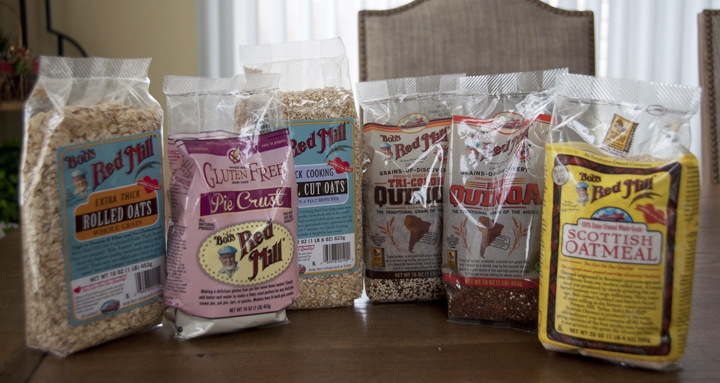Bob's Red Mill Organic Products Giveaway and Review