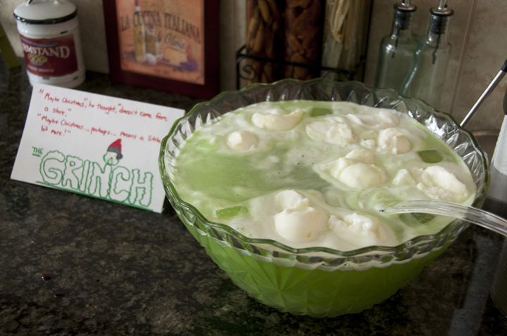 Christmas Quot Grinch Quot Lime Sherbet Punch Wishes And Dishes