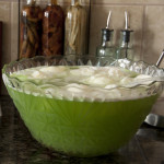 "Christmas ""Grinch"" Lime Sherbet Punch"