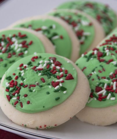 Lofthouse Style Frosted Sugar Cookies Recipe for Christmas and holidaysLofthouse Style Frosted Sugar Cookies Recipe for Christmas and holidays