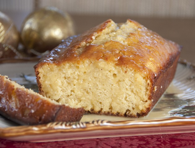 Orange-Glazed Eggnog Quick Bread Recipe for the Christmas holiday. The BEST quick bread!