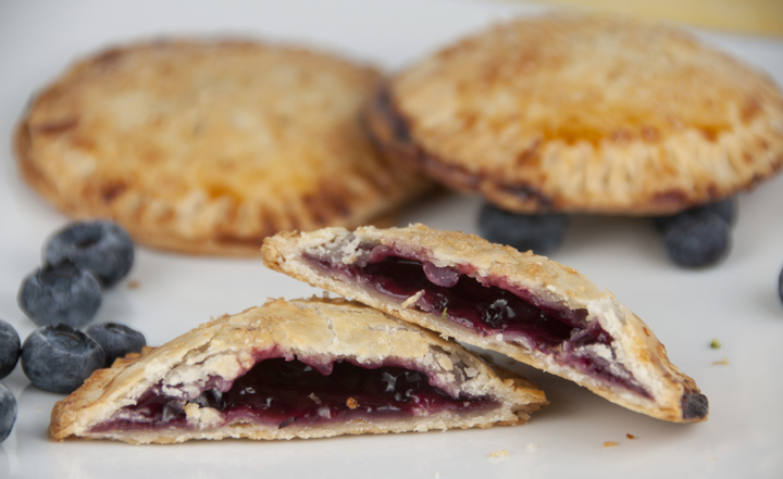 like a nice warm homemade pie? These Gluten Free Blueberry Hand Pies ...