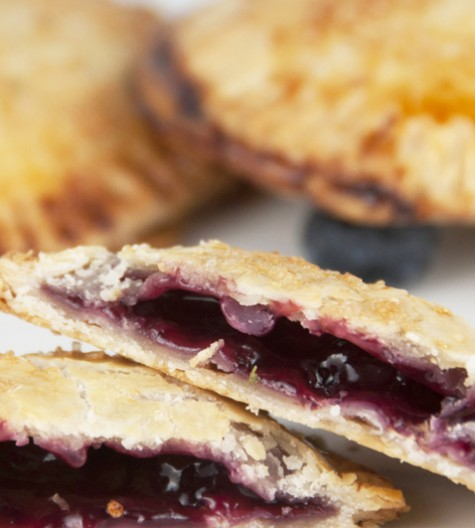 Gluten Free Blueberry Hand Pies are a sweet comforting recipe perfect for fall baking!