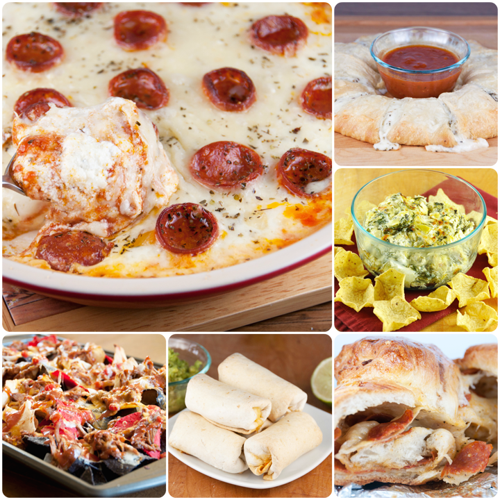 Super Bowl Roundup Appetizer Recipe Ideas 2014
