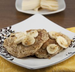 Banana Walnut Pancakes Recipe made with Healthy Farina Hot Cereal