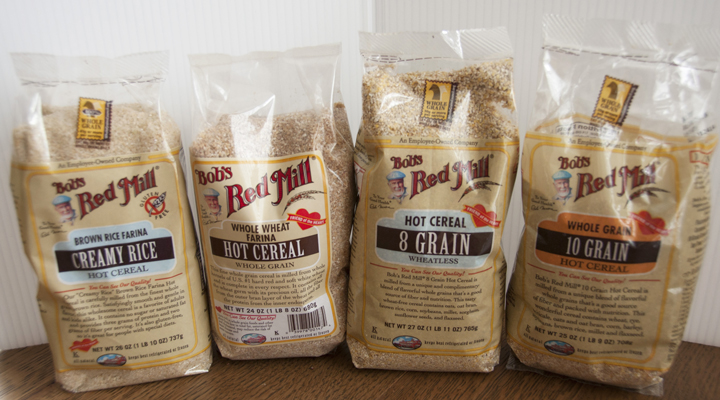 Bob's Red Mill Organic Hot Cereal Giveaway and Review
